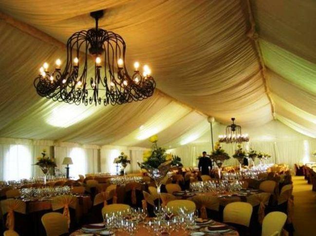 carpas para boda precio
