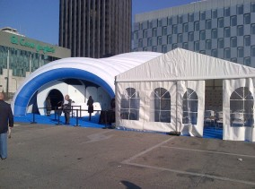 alquiler carpas para road shows madrid